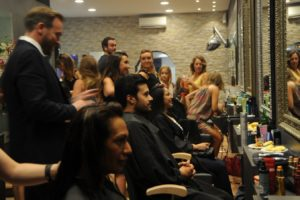 L'Oréal – La Nuit de la Coiffure 2017 at The Cutting Shop!